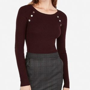 Women's Ribbed Sweater NWT